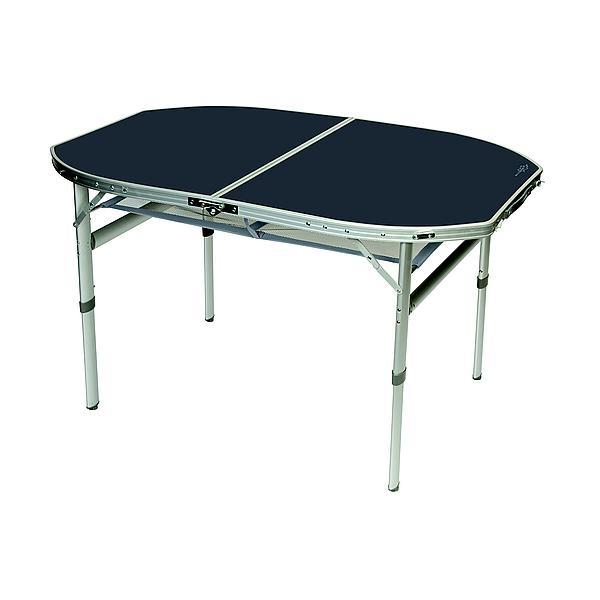 bo camp tafel ovaal koffermodel 150x80 cm. Black Bedroom Furniture Sets. Home Design Ideas