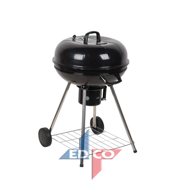 Houtskool barbecue rond model
