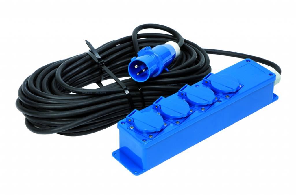 Electrische stroomunit 20 mtr.