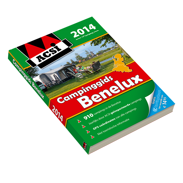 ACSI Campinggids Benelux 2014