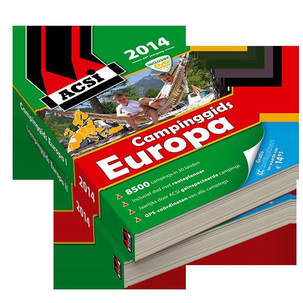 ACSI Campinggids Europa 2014