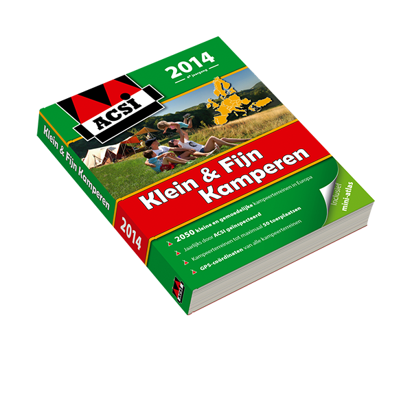 ACSI Klein & Fijn Kamperen Gids 2014