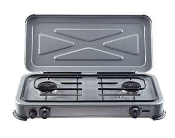 Gimeg kooktoestel 2-pits deluxe grijs