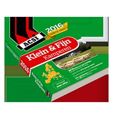 ACSI Klein & Fijn Kamperen Gids 2016