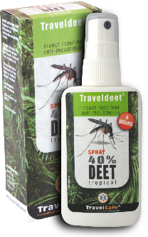 TravelDEET 40 % Spray