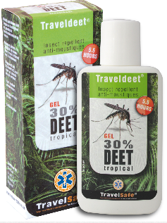 TravelDEET 30 % gel