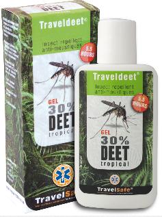 TravelDEET 30 % gel