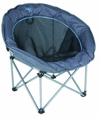 Bo-Camp Vouwstoel Deluxe Shell grijs