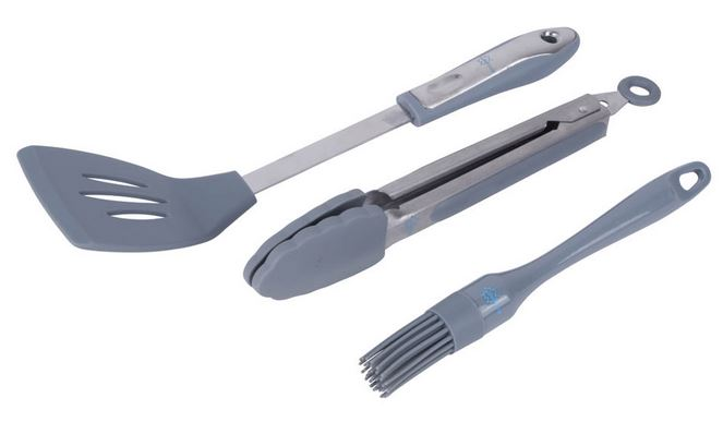 BC Schotel barbecue set 3-dlg silic