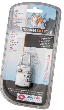 TravelSafe Bagage slot TSA (cijferslot)