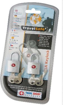 TravelSafe Bagage slot TSA (met sleutel)