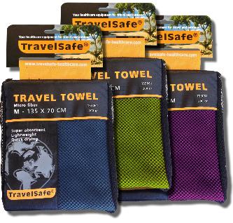 TravelSave Reis handdoek