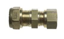 Gimeg rechte aansluiting 6/8 X 8/10mm messing