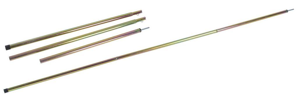 BC Windschermstok 140x1,6x0,8cm