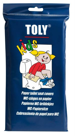 Toly WC-brildekjes for kids 30st