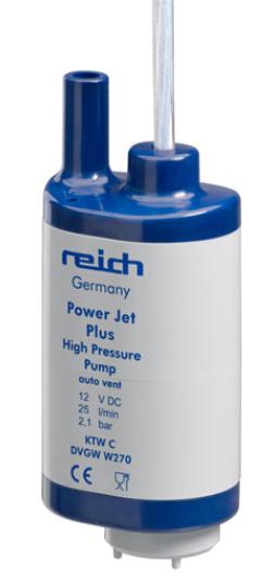 Reich dompelpomp powerjet 12V 25 liter