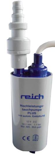 Reich dompelpomp 12V 19 liter