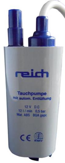 Reich dompelpomp 12V 18 liter