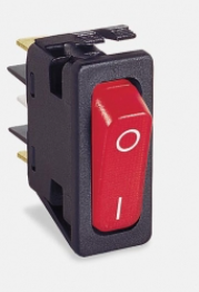 Dometic Koelkastschakelaar 12 volt rood