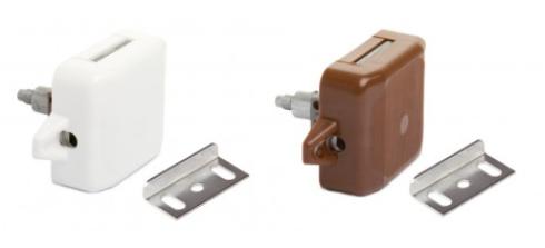 Kast - Toiletdeurslot Push-lock Spanjolet
