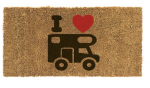 Travellife deurmat I love camper