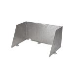 Crespo - Kookwindscherm - P-260 - Verstelbaar - Aluminium