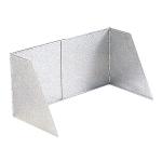 Crespo - Kookwindscherm - P-259 - Verstelbaar - Aluminium