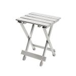 Bo-Camp - Vouwkrukje/-tafel - Aluminium - 30x25x40 cm