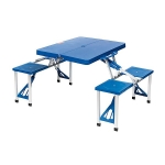 Camp-Gear - Picknicktafel - Basic - Inklapbaar - Blauw