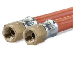 Gimeg gasslang PVC 1/4 inch links binnen X 1/4 inch links binnen