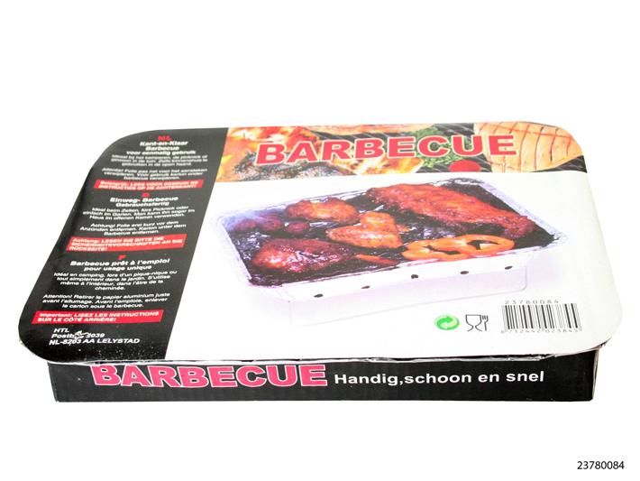 Wegwerp barbecue