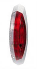 Hella contourlicht opbouw rood/ wit links 122x39mm
