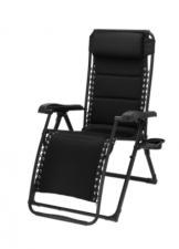 Travellife Barletta Relax stoel zwart