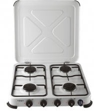 Gimeg kooktoestel 4-pits deluxe wit beveiligd