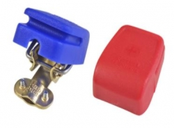 HABA Set accupoolklemmen met snelkoppeling