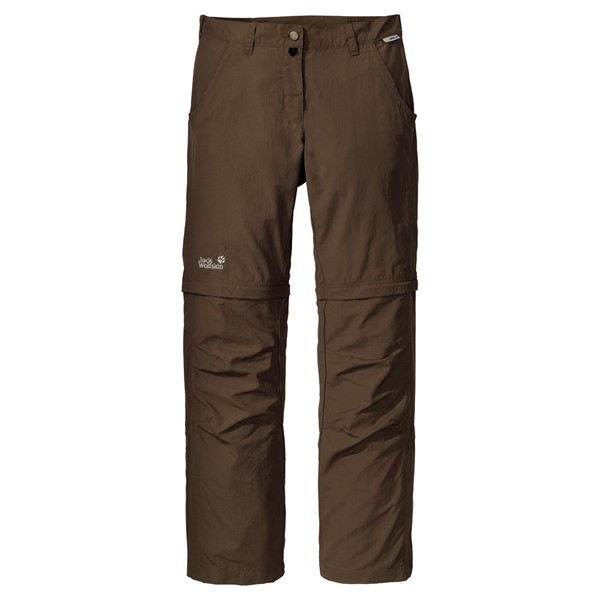 Jack Wolfskin canyon zip off pants women