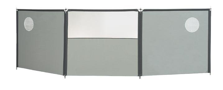 Isabella uitbreidingsdeel windscherm Flex