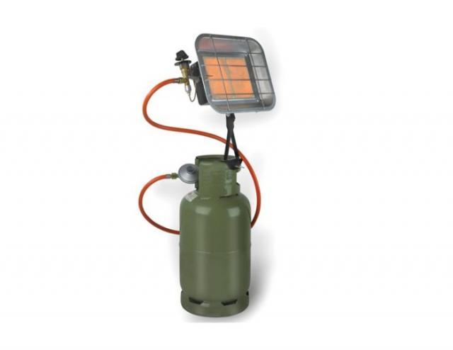 Infrarood straler met flesbevestiging 4300 Watt
