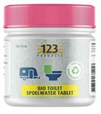 123 - Bio Toilet Spoelwater Tablet