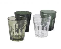 BC Limonade glas mix&match 4st. 200ml groen