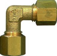 Gimeg knie 6/8 X 6/8mm staal