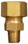 Gimeg rechte aansluiting 1/4 inch buiten X 6/8