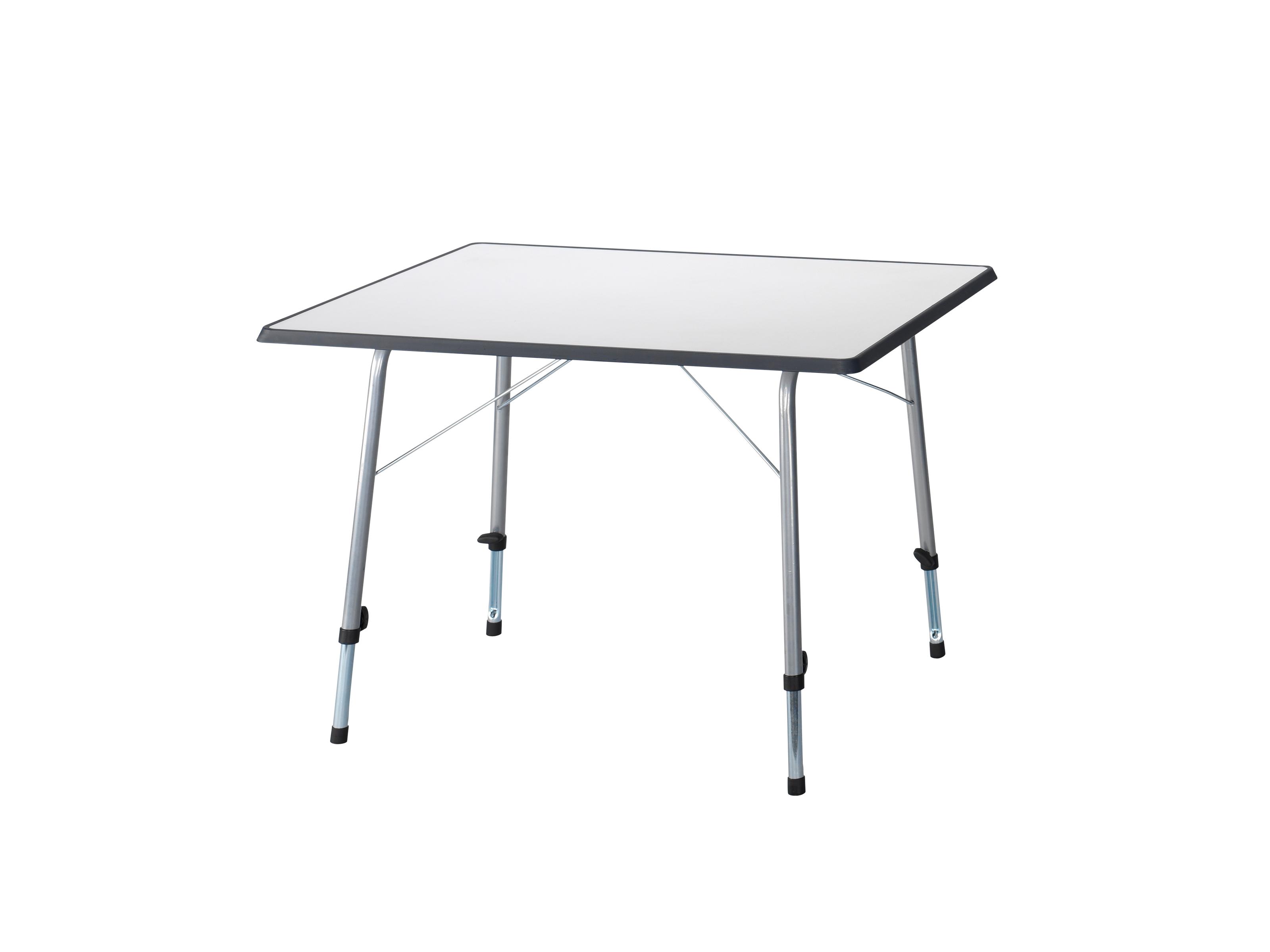 Campart travel tafel 80 x 60 cm grijs