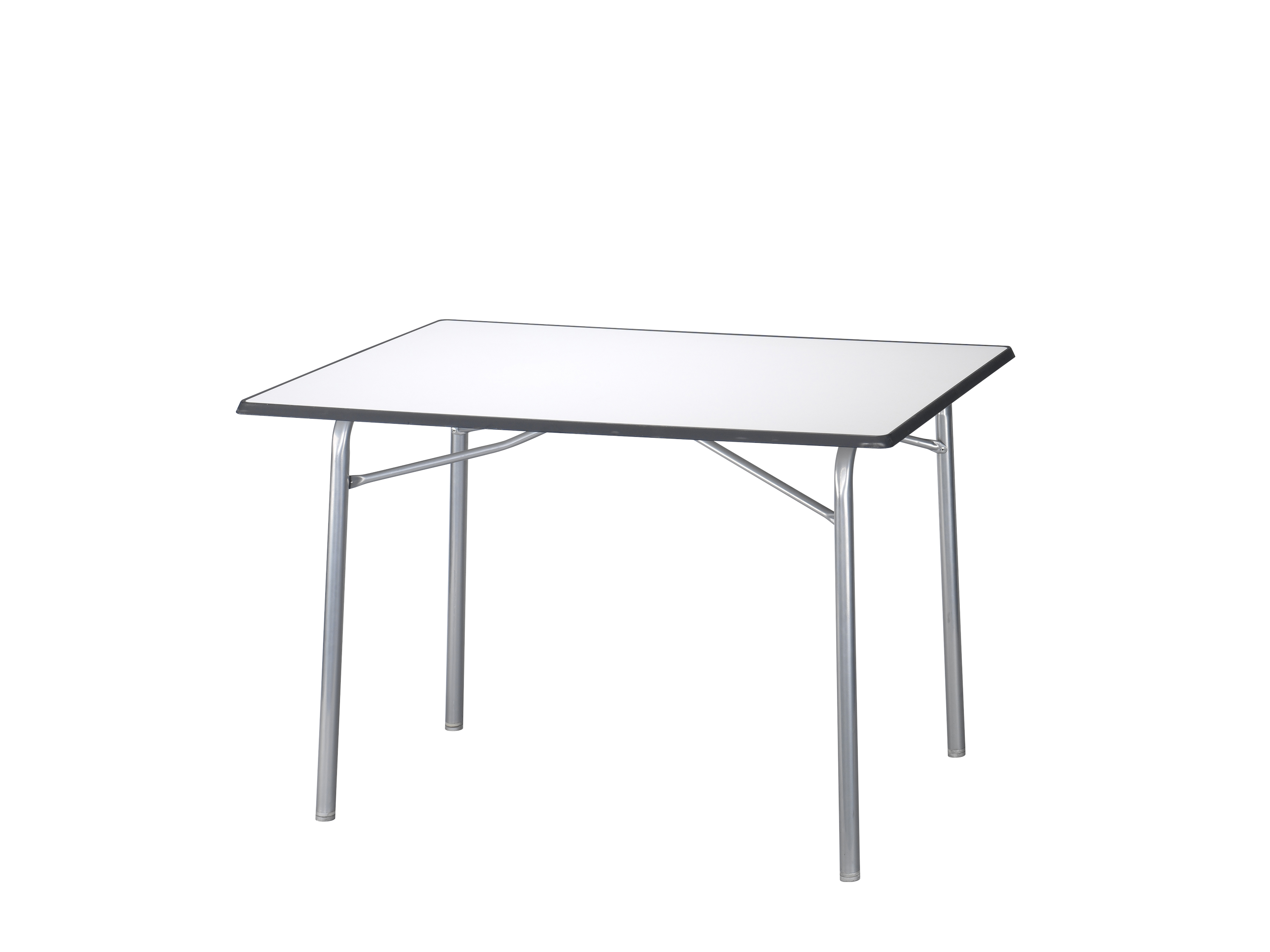 Campart travel tafel 115 x 70 cm grijs