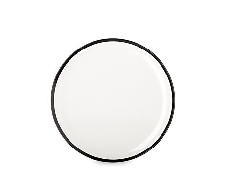 Mepal plat bord - zwart