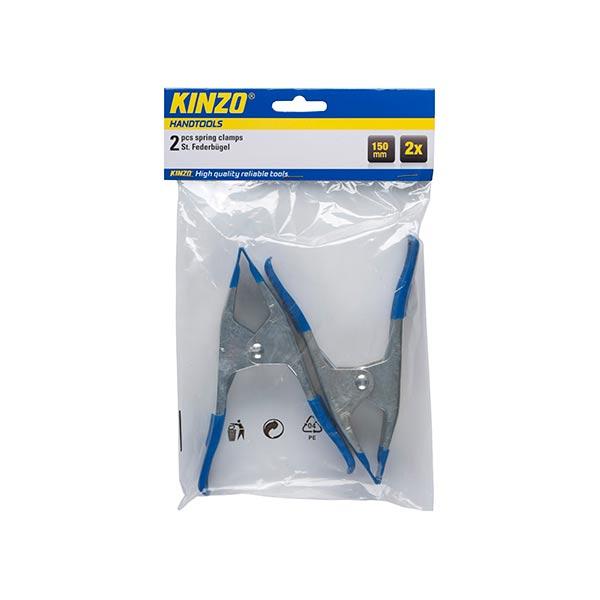 Veerklemmen 150 mm 2 stuks