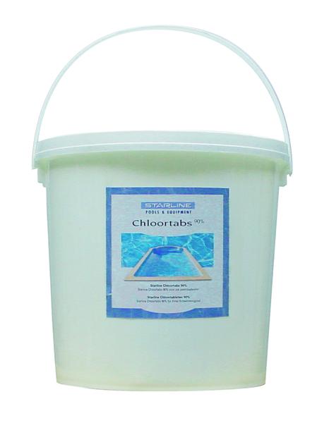 Chloortabletten 200 grams 5 kg