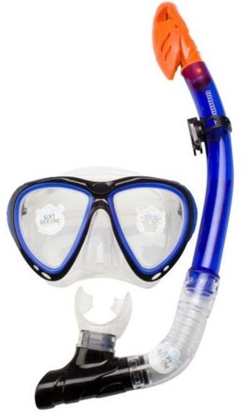 Duikmasker met snorkel senior
