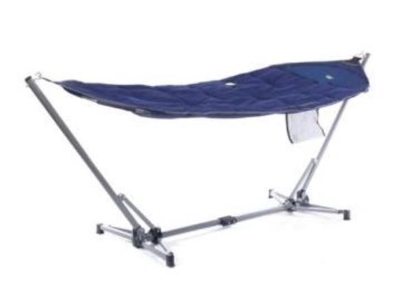 Hangmat gepolsterd - draagtas