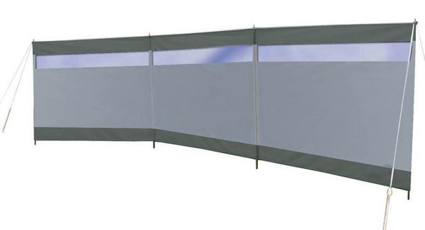 BC Windscherm Solid m/rm grijs